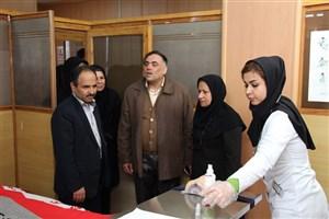 دبیر هیات بورد پرستاری وزارت بهداشت: تجهیزات دانشکده پرستاریواحد نجف آباد در سطح بالایی قرار دارد