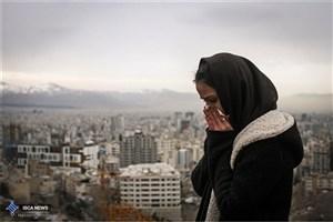 طوفان ریزگردها هوای تهران را ناسالم کرد