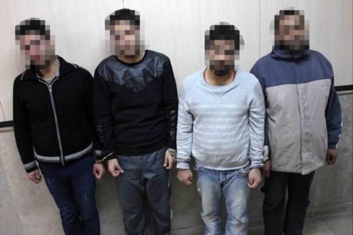 دستگیری سارقان طلافرشی