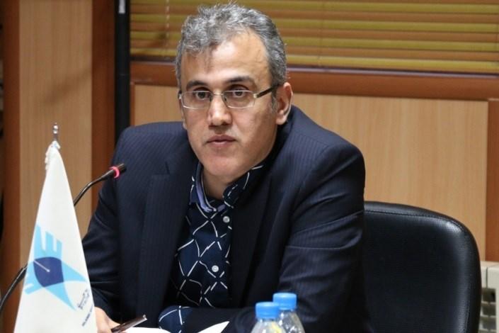 حسین فلاح باقر شیدائی معاون پژوهش و فناوری دانشگاه آزاد اسلامی واحد رشت