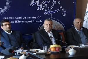 معاون وزیر کشاورزی: واحد اصفهان در بین دانشگاههای کشور در جایگاه خوبی قرار دارد