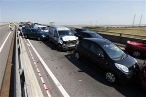 تصادف زنجیرهای 8 کشته و مصدوم برجای گذاشت
