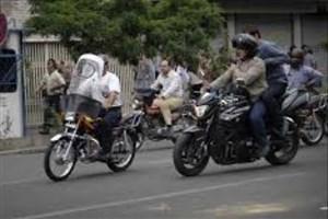 رانندگان موتورسیکلت ها با حجم کمتر از 50 سی سی و برقی  باید گواهینامه داشته باشند