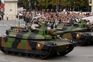 """احتمال فروش """"صدها"""" تانک فرانسوی به عربستان سعودی/ نگرانی آلمان"""