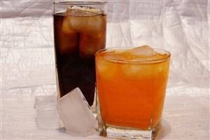 نوشیدنی یخ زده نخورید