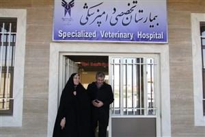 دکتر یوردخانی رئیس جدید دانشکده دامپزشکی واحد گرمسار شد