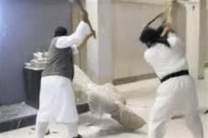 ویدیو /  داعش باز هم آثار باستانی را تخریب کرد
