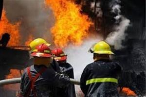 یک کشته در انفجار و آتش سوزی  ساختمان مسکونی در خیابان مختاری