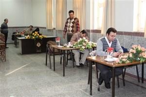 برگزاری  اولین دوره آزمون جامع دانشجویان دکترای تخصصی برق مخابرات واحد نجف آباد