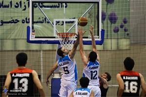 دیدار بازیکنان خارجی بسکتبال دانشگاه آزاد اسلامی با دادگان+عکس