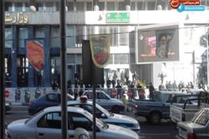 بازداشت تعدادی از دانشجویان تجمع کننده مقابل وزارت نفت