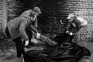 مرگ  یک کارتن خواب دیگر از  سرما  +عکس