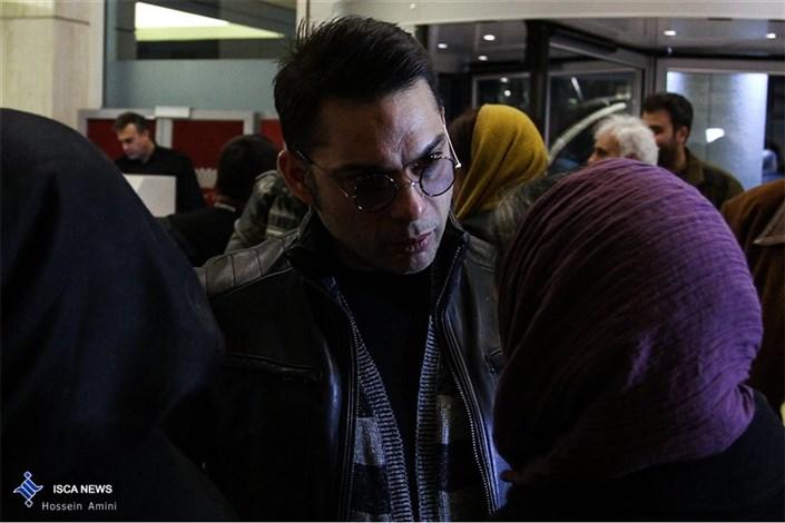 در حاشیه اولین روز سی و چهارمین جشنواره فیلم فجر