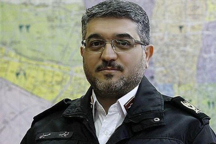 سید تیمور حسینی/رییس پلیس راهور تهران بزرگ