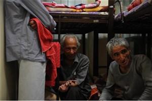 استفاده از تمام ظرفیت مددسرای  رازی برای  افراد بی خانمانو کارتن خواب در روزهای سرد و برفی