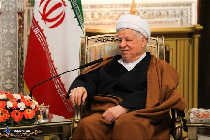 دیدار آیت الله هاشمی رفسنجانی با وزیر دارایی اسلواکی