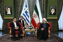 دیدار نخست وزیر یونان با دکتر روحانی