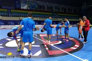 نخستین تمرین تیم ملی فوتسال در ازبکستان به روایت تصویر