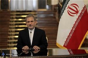 تاکید جهانگیری بر استمرار حمایت های ایران از ملت و دولت سوریه