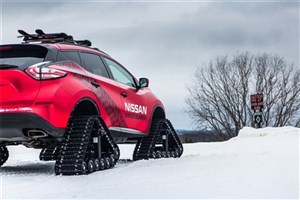 خودرویی ویژه حرکت در برف