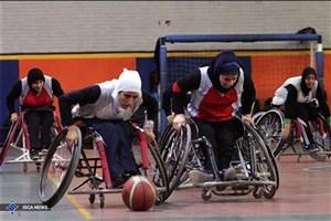 برگزاری لیگ بسکتبال با ویلچر بانوان در بم