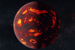First Analysis of Earth-sized Planet