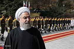 استقبال رسمی و نشست هیات های عالی رتبه ایران و آذربایجان