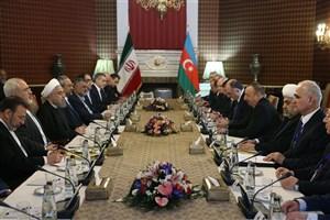 رئیس جمهوری: روابط تهران و باکو راهبردی است/در دوره پسابرجام، گسترش و تحکیم روابط با همسایگان در اولویت است