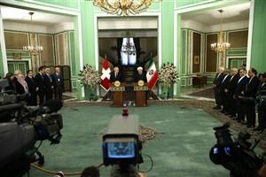 رئیس جمهوری: ایران و سوئیس مصمم به توسعه و تعمیق روابط در عرصههای مختلف هستند