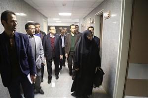 بازدید مسئولان وزارت بهداشت از امکانات آموزشی واحد آیتالله آملی و بیمارستان امام خمینی (ره)