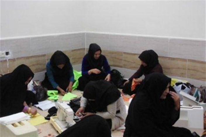 زنان تحت پوشش کمیته امداد