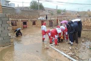 امداد رسانی به 838 نفر در استانهای گلستان و مازندران