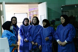 بازدید هیات ارزیاب وزارت بهداشت از دانشکده مامایی واحد بجنورد