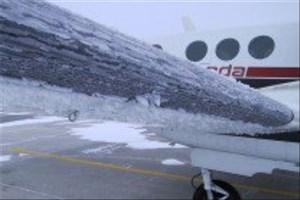 ساخت ماده  جدیدی که میتواند از یخ زدن بدنه  هواپیماها جلوگیری کند/ویدیو