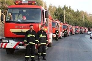 آمادهباش 570 آتشنشان در مراسم سالگرد ارتحال امام