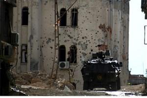 درگیری خونین در شهردیار بکر ترکیه