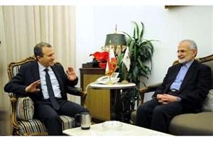 تاکید کمال خرازی و جبران باسیل بر ضرورت گسترش روابط ایران و لنبان