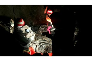 اولین تصاویر بالگرد  سقوط کرده اورژانس در استان فارس