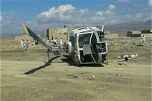 بالگرد نیروی انتظامی در کوههای ارومیه سقوط  کرد