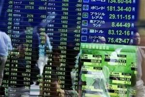 شاخص بورس کشورهای آسیایی کاهش یافت