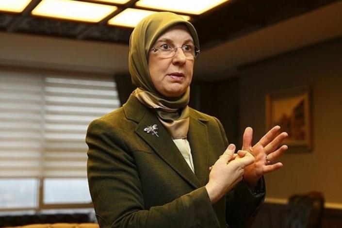 Image result for سیما رمضاناغلو، وزیر امور اجتماعی و خانواده ترکیه