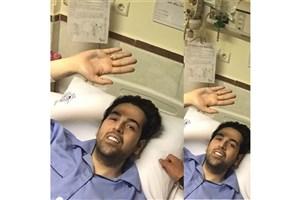 عماد طالب زاده خواننده پاپ، در بیمارستان بستری شد