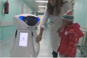 فیلم/ همبازی روباتی کودکان سرطانی