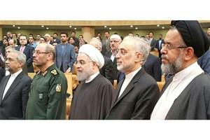 مراسم روز ملی فناوری هسته ای با حضور رییس جمهوری آغاز شد