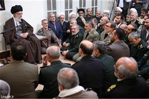 رهبر معظم انقلاب:  توان عملیاتی و انگیزههای معنوی نیروهای مسلح باید روز به روز تقویت شود