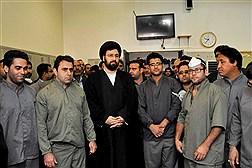دیدار حجت الاسلام سید علی خمینی با کارکنان سازمان بهشت زهرا