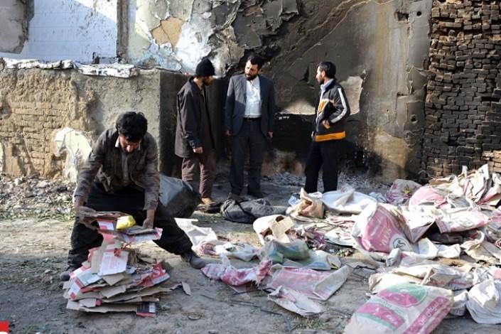 پاتوق معتادن در خیابان هاشمی