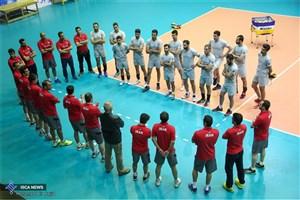 تیم ملی والیبال ایران مقابل فرانسه شکست خورد
