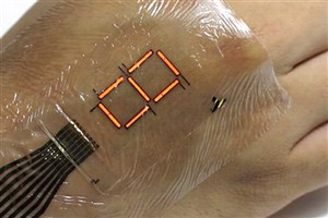 Ultra-thin Digital Display Can Turn Your Skin into a Screen