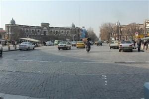 بازسازی سنگ فرش های میدان تاریخی حسن آباداز هفته آینده